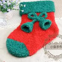 棒针编织可爱的圣诞袜视频教程(共3集)