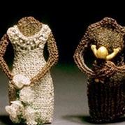 生动的编织 加拿大艺术家针织金属丝首饰