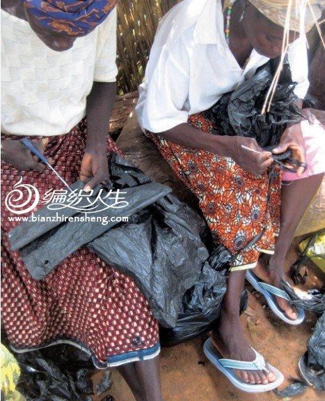 塑料袋编织