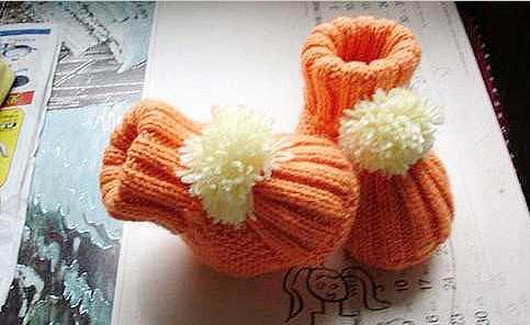 编织宝宝鞋