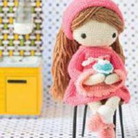 钩针人偶之烘焙娃娃图解教程