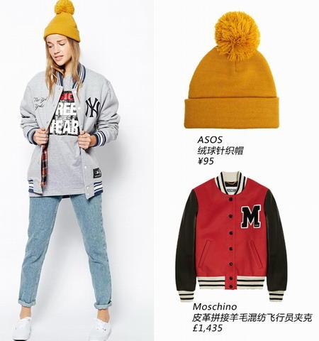 姜黄色绒球帽