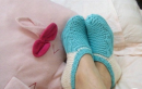 超简单袜子编织教程