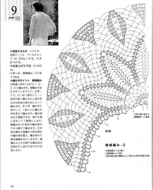 图纸流苏羊绒电机披肩/epro的钩针v图纸半圆对图片