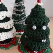 圣诞小物之钩针换装圣诞树