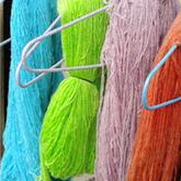 食用色素自制超长段染纯毛线