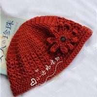 暖心 送婆婆的冬款钩针帽