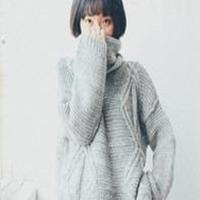 36款秋冬时尚粗棒针编织毛衣欣赏