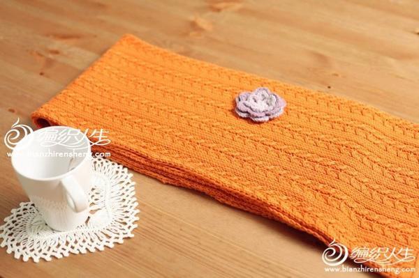 麻花围巾视频教程
