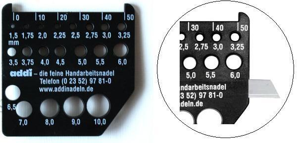 德国ADDI密度棒针测量尺