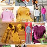 云柔作品(二)26款棒针钩针编织毛衣围巾