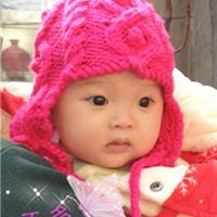 棒针编织经典花型宝宝护耳帽及脖套