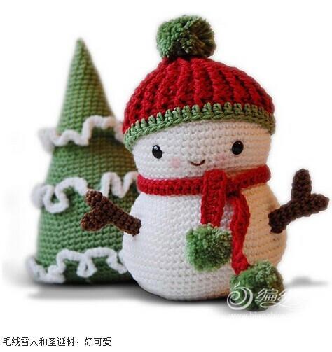 圣诞节编织 暖暖的毛线编织圣诞礼物