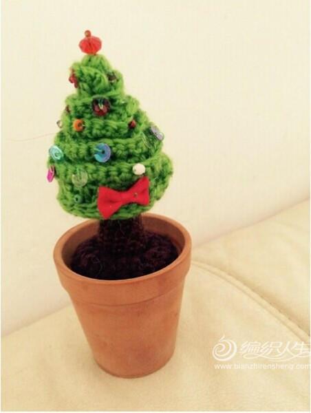 编织圣诞树