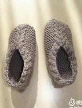 有趣的棒针编织地板袜编织教程