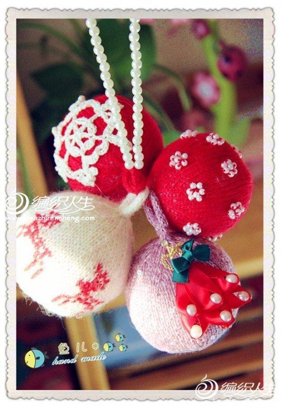 针织圣诞装饰