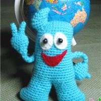 海宝 钩针编织玩偶玩具文字教程