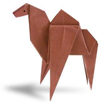 手工折纸骆驼教程图片