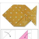 小鱼折纸手工DIY教程