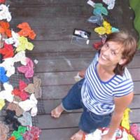 Isabelle Garbani的再生材料针织艺术意义