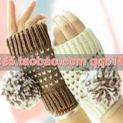 可爱女生手套的织法视频教程