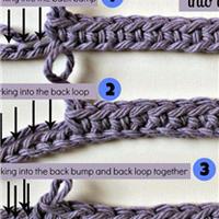 钩针基础之锁针起针时3种挑线方法