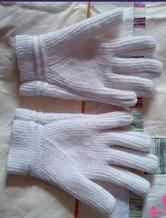 一线横织五指手套详细图文教程