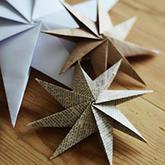 八角星手工折纸教程