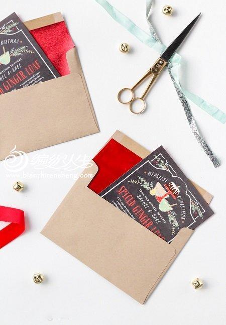 简单的喜庆红包信封折纸