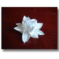 立体花朵手工折纸DIY