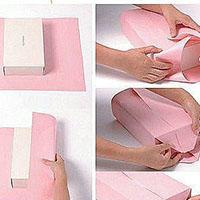 手工礼物包的包装方法教程