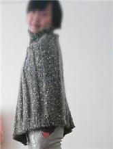 织法超简单的温暖显瘦女士斗篷