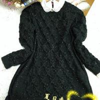 最IN的时尚麻花宽松棒针毛衣