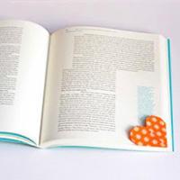 心形书签手工折纸教程