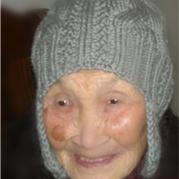 送老妈妈的冬日温暖 老年人棒针编织护耳帽