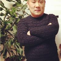 幸福相伴 棒针编织男士黑色绞花毛衣