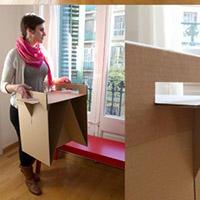 硬纸板桌子手工DIY教程