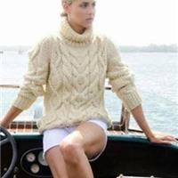 时尚达人教阿兰毛衣的时尚搭配