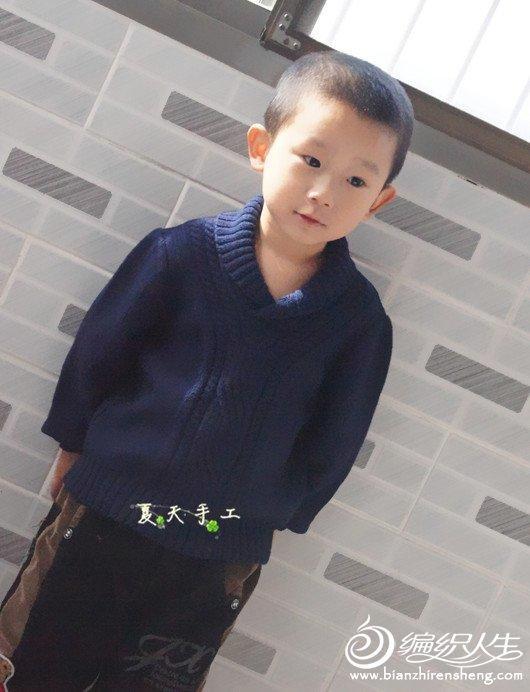JACADI童装男孩毛衣