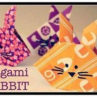 可爱小兔子手工折纸教程