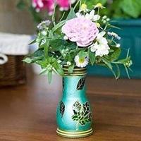 自制精致小花瓶手工教程