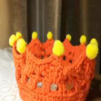 温暖创意钩编小物之针织皇冠视频教程