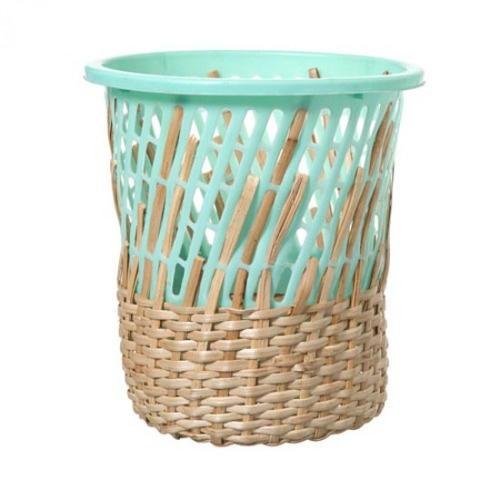 塑料与竹编创意手工diy教程图片