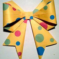 蝴蝶折纸手工教程