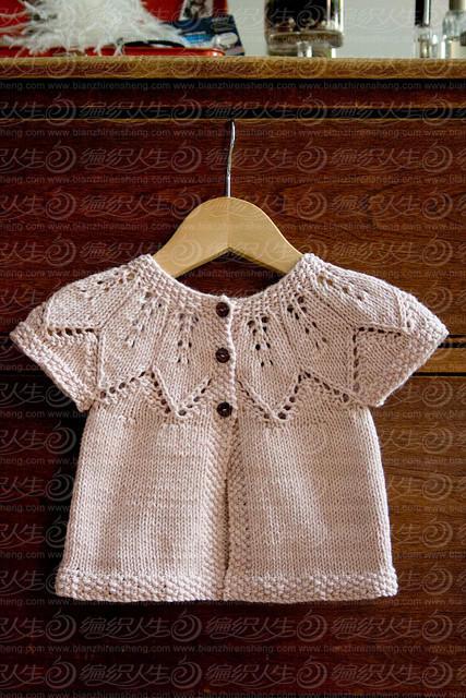各式从上往下织的叶子毛衣款式 编织教程 编织人生