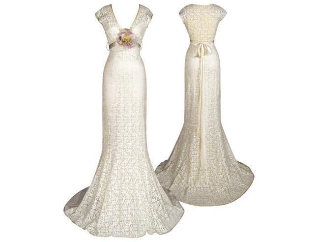 独特的钩针婚纱款式欣赏-编织人生