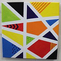 简单彩色几何手工教程