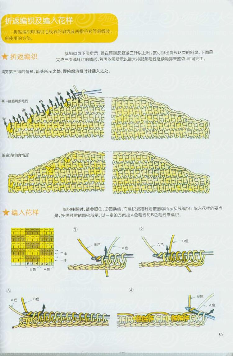 阿富汗钩针编织基础