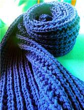 冬日经典棒针围巾 粗针粗线拉链针围巾