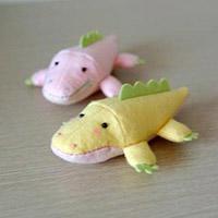布艺小鳄鱼玩偶手工DIY